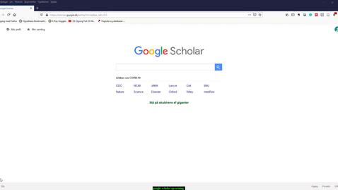 Thumbnail for entry google scholar settings