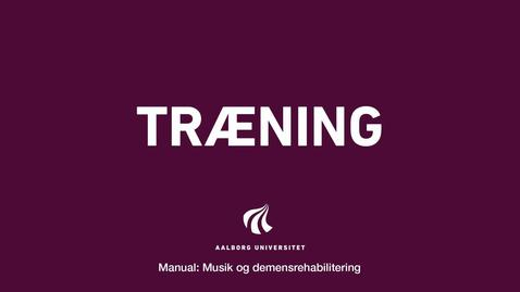 Thumbnail for entry Manual sang og musik: Træning Intro