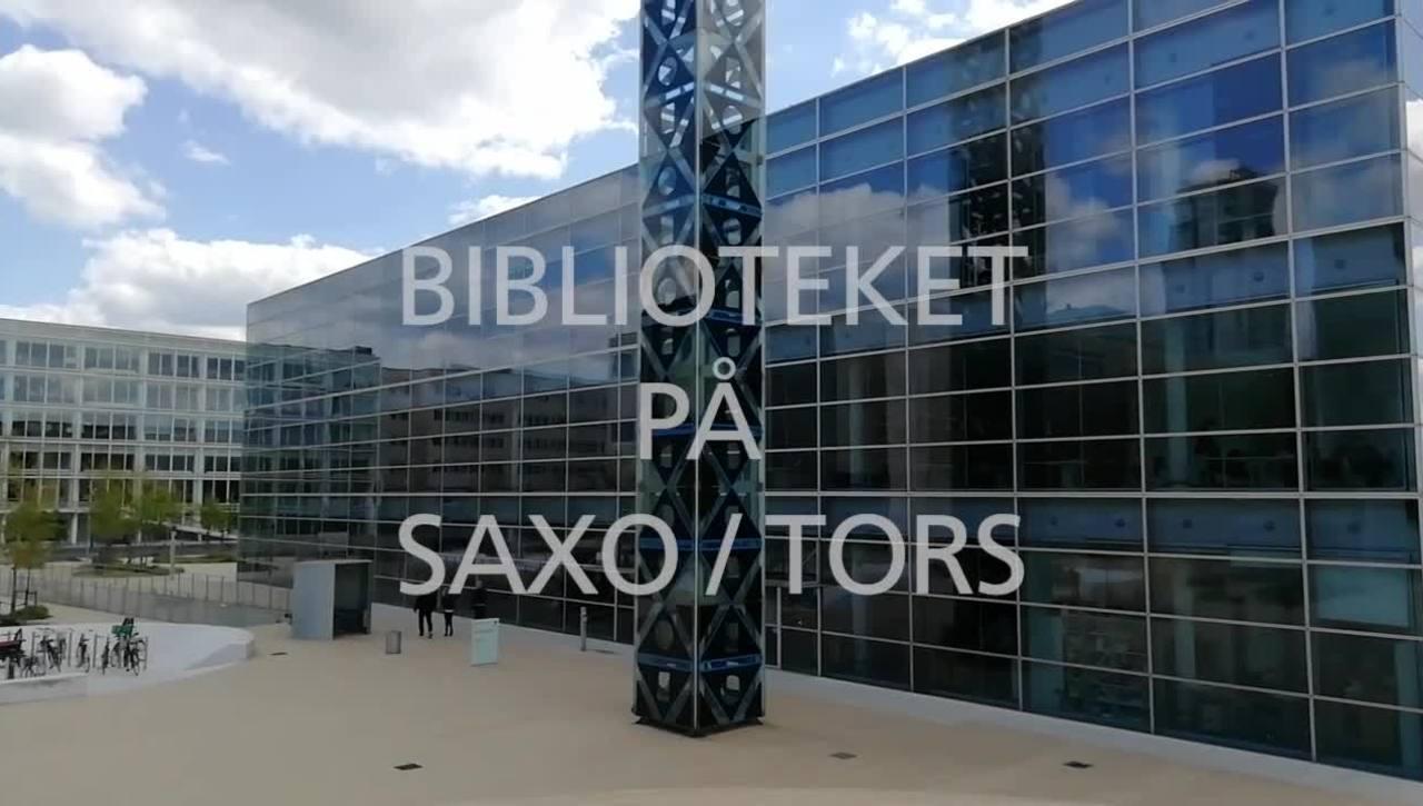On-boarding 2021 SAXO / TorS Biblioteket