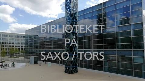 Thumbnail for entry On-boarding 2021 SAXO / TorS Biblioteket