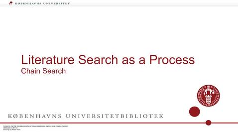 Thumbnail for entry The Search process chain search part 3