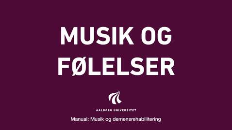 Thumbnail for entry Manual sang og musik: Musik og følelser video 2