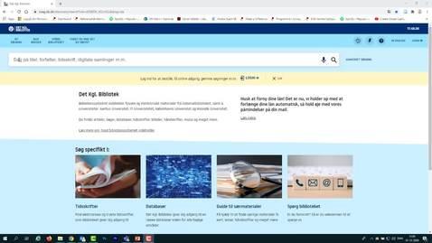 Thumbnail for entry Avanceret søgning