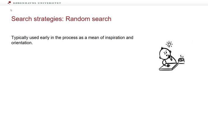 The Search process random search part 2