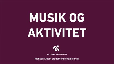 Thumbnail for entry Manual sang og musik: Musik og aktivitet intro