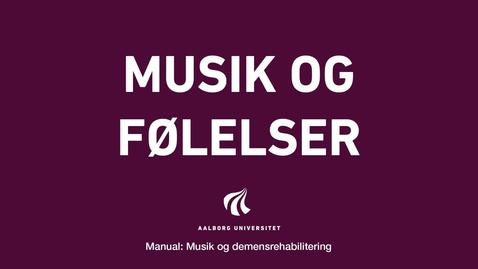 Thumbnail for entry Manual sang og musik: Musik og følelser intro