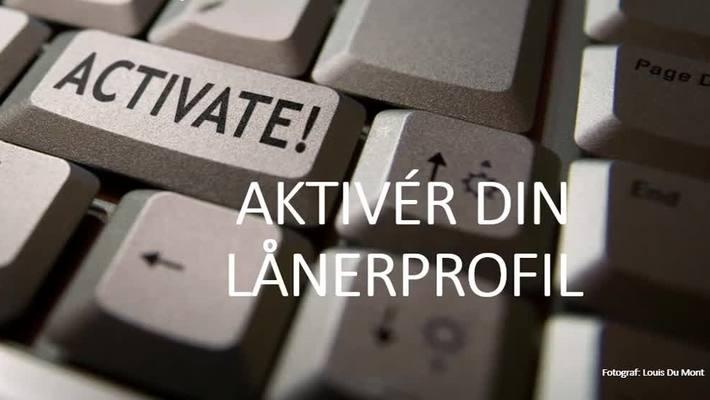 Aktiver din lånerprofil 3
