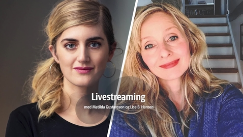 Thumbnail for entry Matilda Gustavsson livestreaming den 28 september