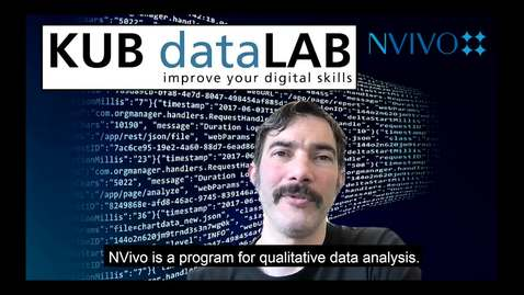 Thumbnail for entry KUB Datalab - om Nvivo